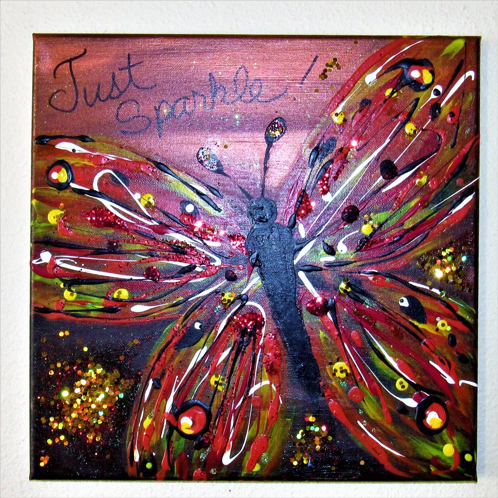 $35 Glitterflies-Just Sparkle