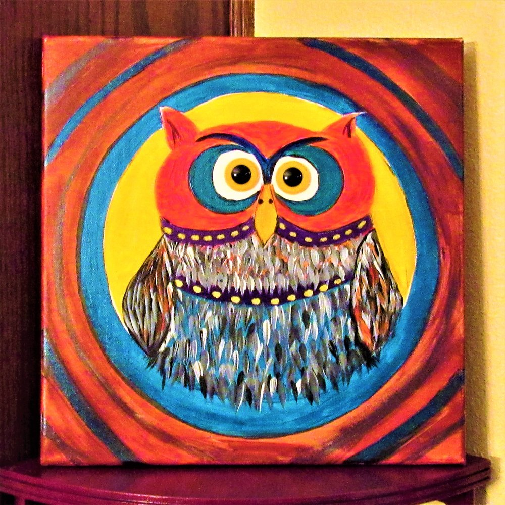 Owl Button Eyes $35