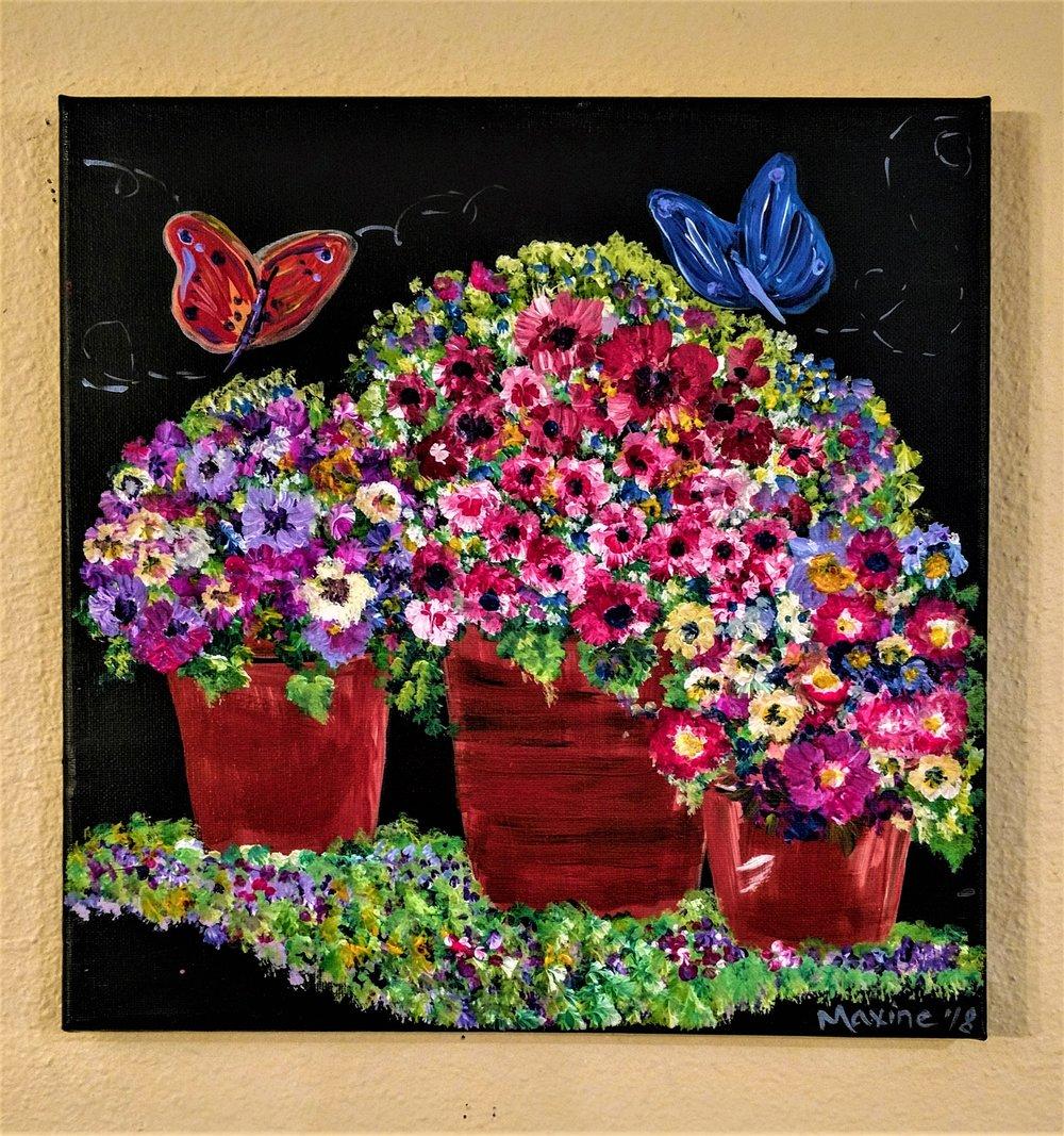 Butterfly Garden $35