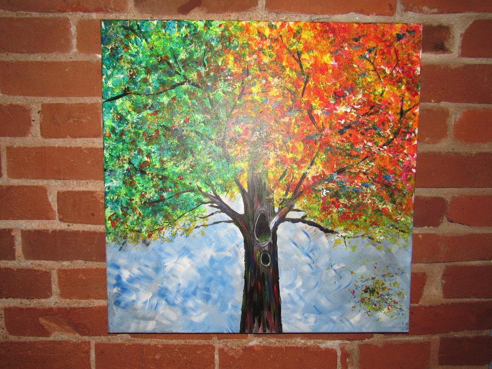 $40 Rainbow Tree