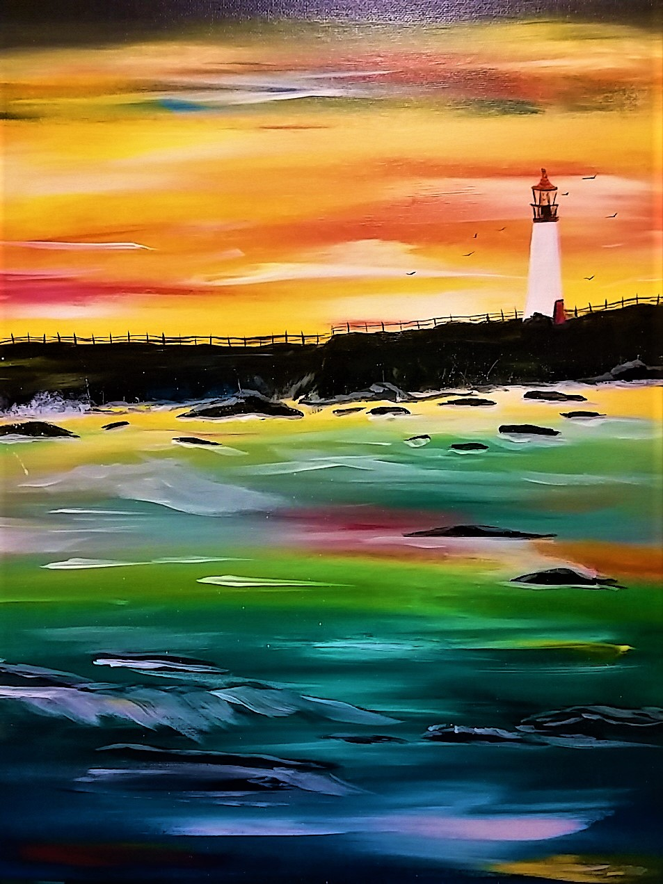 Light House $40 Portrait