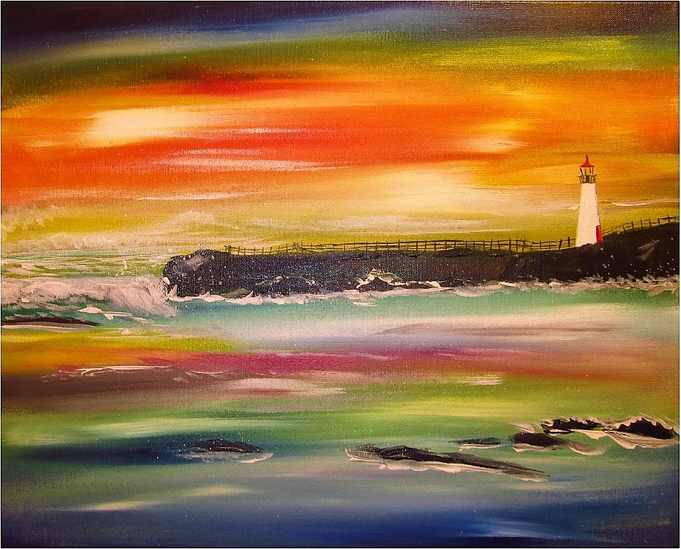 Light House $40 -Landscape