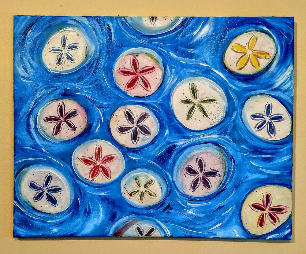Sand Dollars $35 Blues