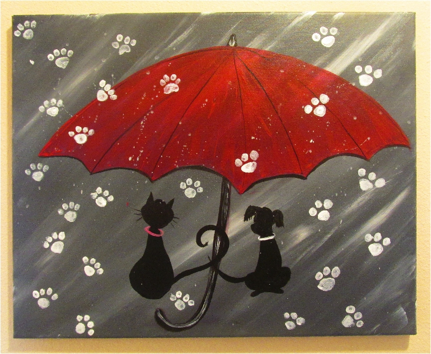 $35 Raining Cats 'n Dogs