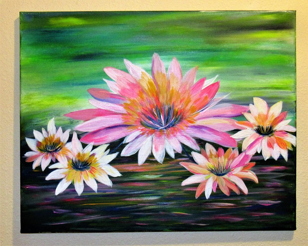 $35 Water Lilies