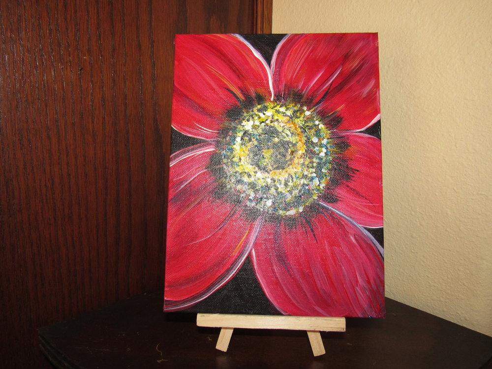 $15 2/5x7 Flower