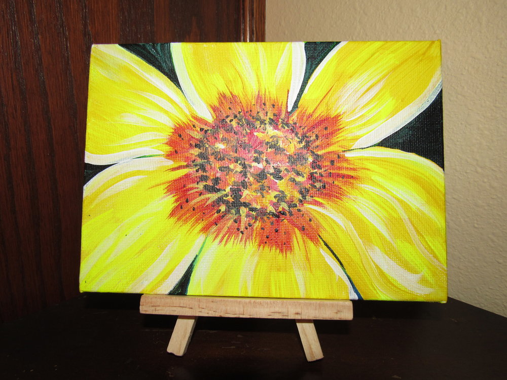 5x7 Flower