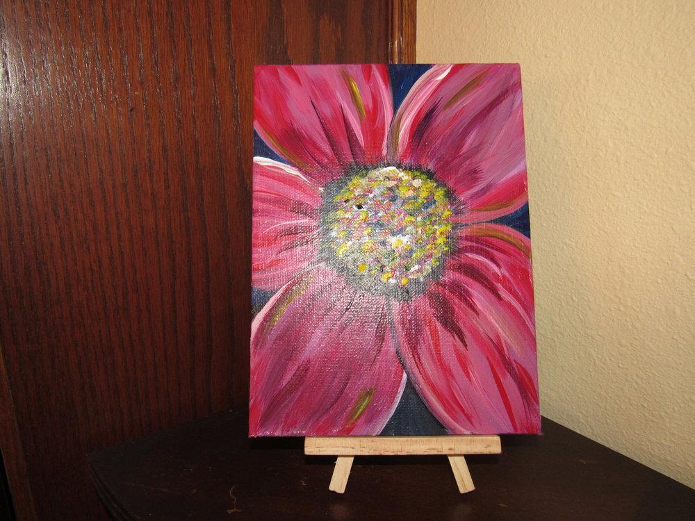 5x7 Flower $10
