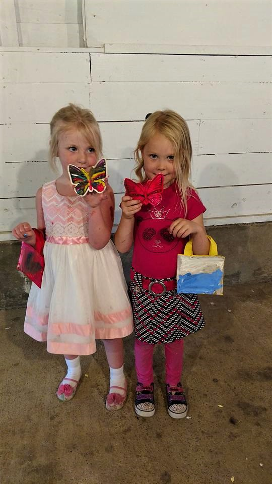 while the adults paintnparty... - $12 Kids n Canvas Tote Kits