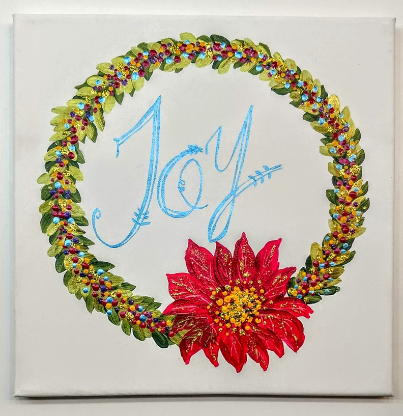 $35 Wreath Joy