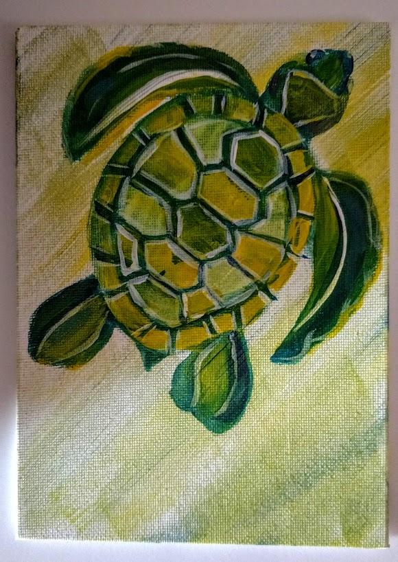 5x7 Sea Turtle