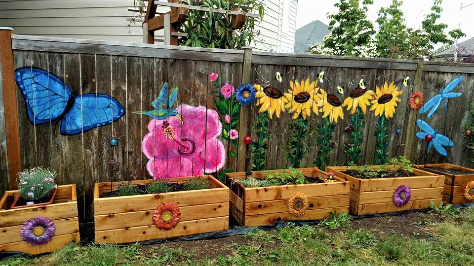 WINGS N TAILS PAINT YOUR FENCE PAINTING PARTIES!