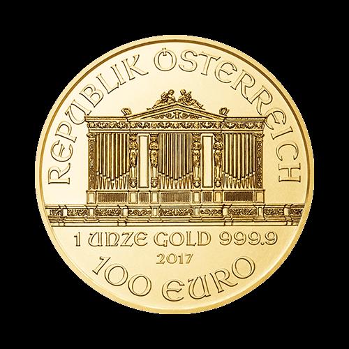 1 Ounce Austrian Philharmonic Gold Coin