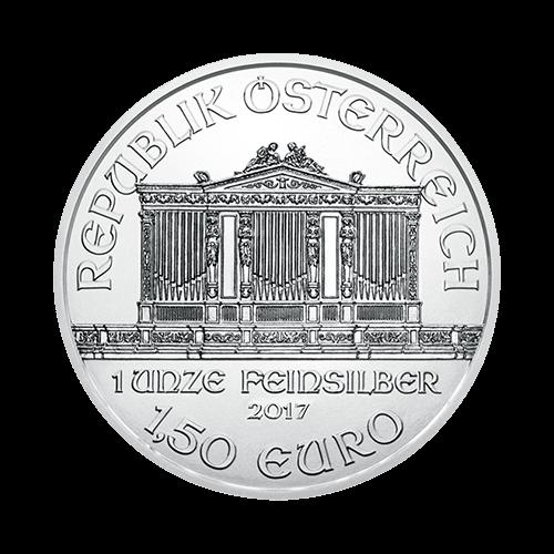 1 Ounce Austrian Philharmonic Silver Coin