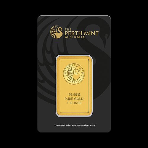 1 Ounce Perth Mint Gold Bar