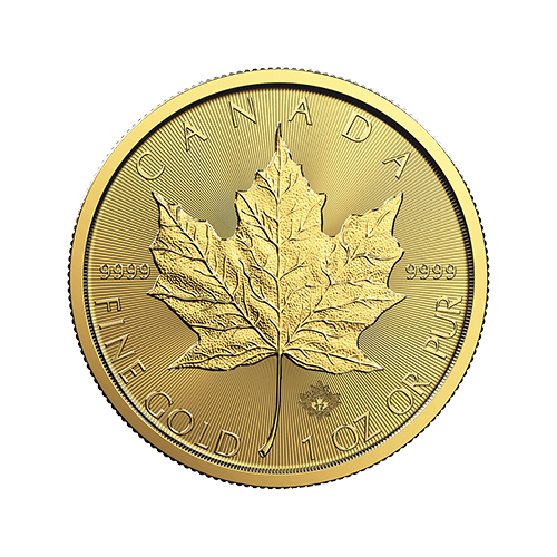 1 Ounce Canadian Maple Leaf Gold Coin