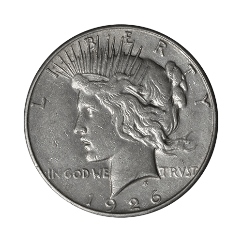 1926 American Peace Dollar Silver Coin