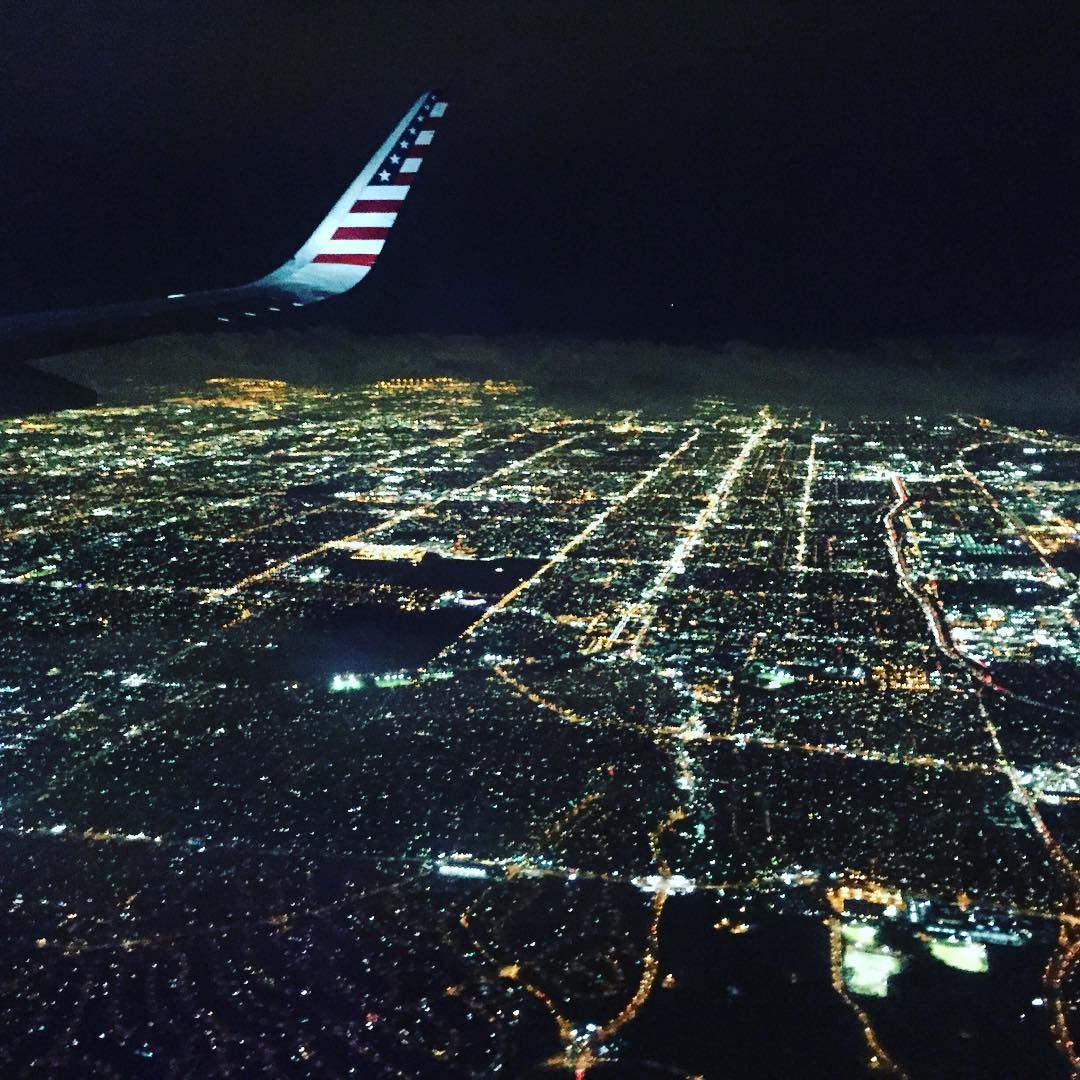 #la #fromtheair here's a shot from my travel a few weeks ago. California see you soon!