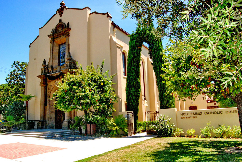 Glendale, CA Holy Family Church -