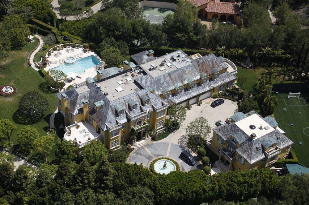 Rod Stewart Residence |Beverly Park, CA25, 000 Sq. Ft. -