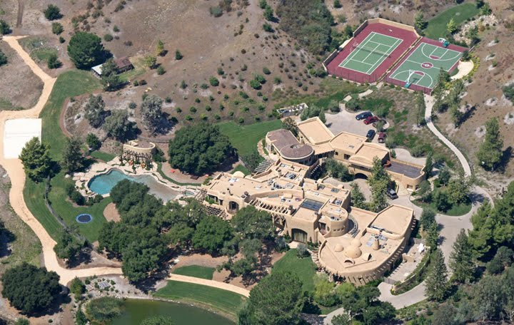 Former Will Smith Residence | Cold Canyon, CA 32,000 Sq. Ft.  -