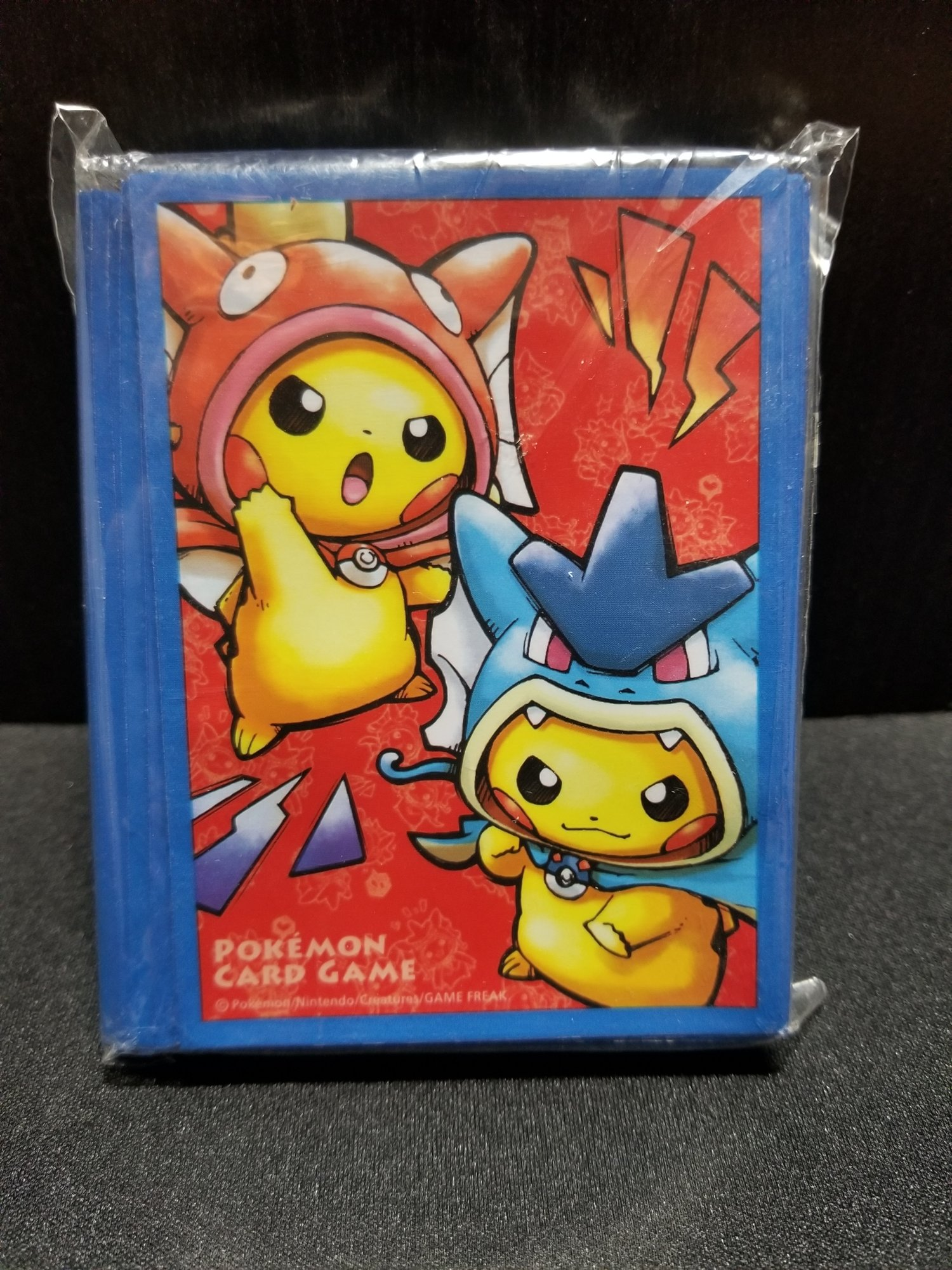 Magikarp And Gyarados Pikachu Cosplay Japanese Sleeves 64ct Legacy
