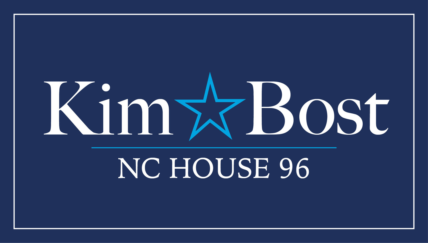 Kim Bost for NC House 96