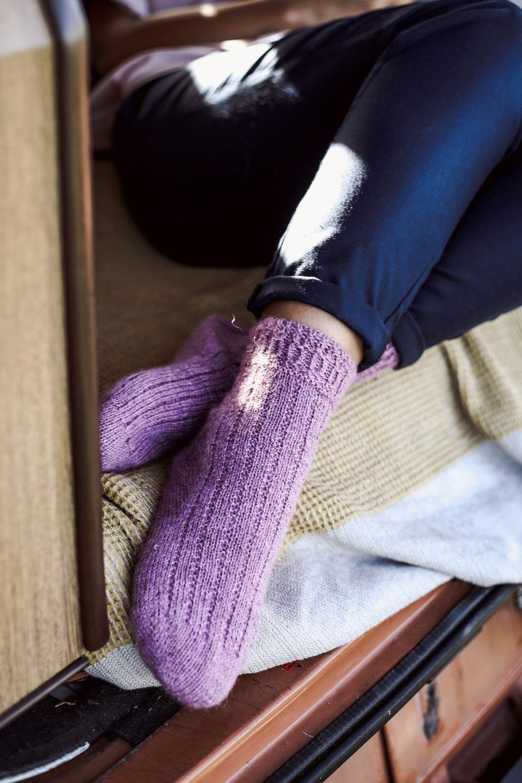 Grasmere Socks by Verena Cohrs for TRAVEL