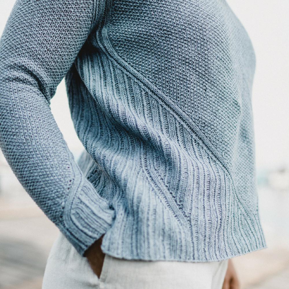 Pàs pullover, designed by Sari Nordlund in mYak yarn