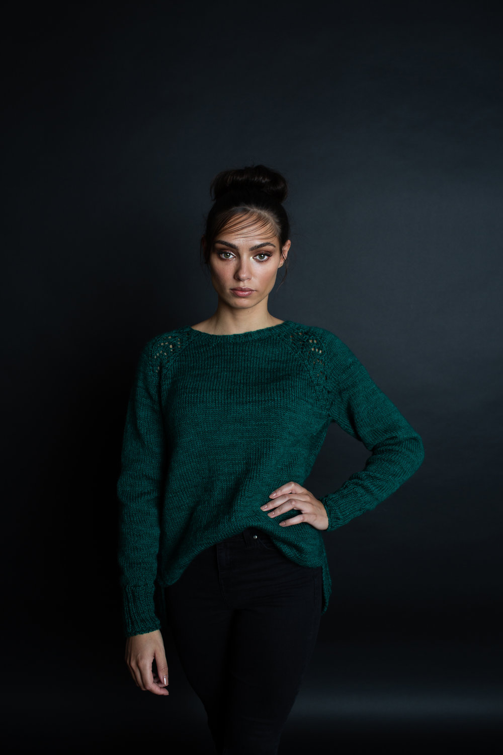 Diopside Pullover by Vanessa Ewing for JEWELS by Making Stories