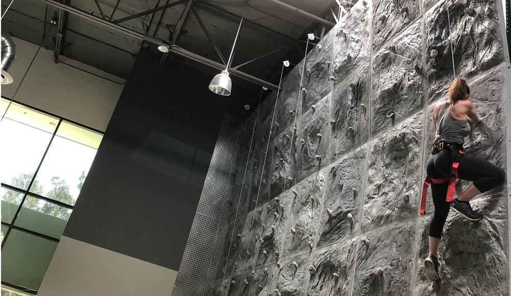 - rock climbing