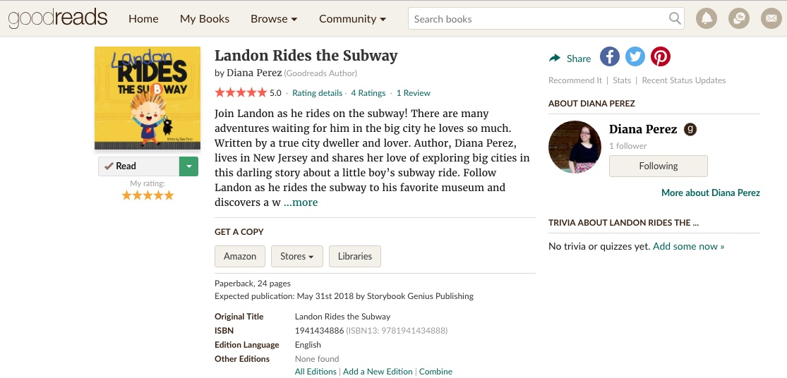 Share your review on GoodReads! — LandonsBooks