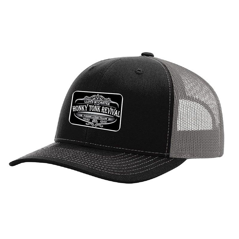 Black/Grey Trucker Hat $25