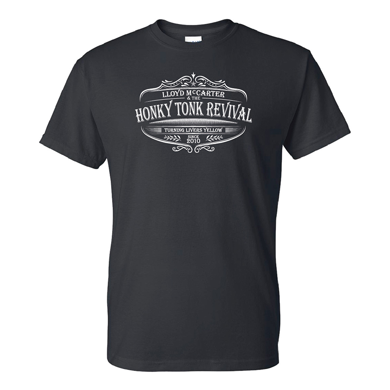 Revival Black T-Shirt $20