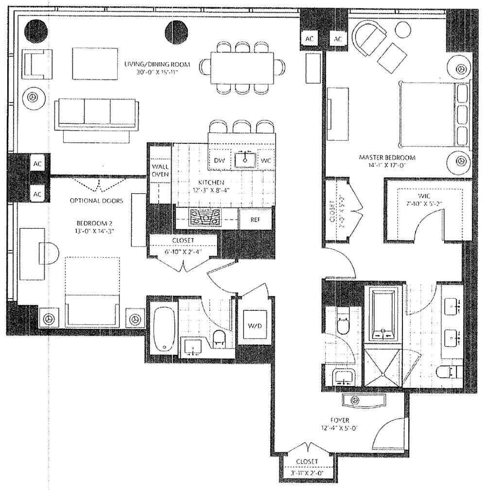 Ritz Carlton Residence 19F Philadelphia Condo.png