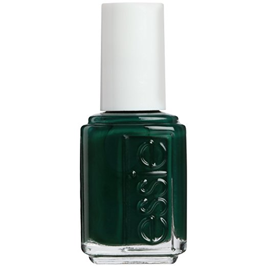Essie is probably my favorite nail polish brand. Every color I've bought is spot on. I I've looked FOREVER for the right fall green. Some greens can make your feet look dead, but  Essie Stylenomics  is perfect.