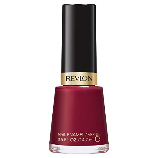 I've been wearing some version of this color since I started wearing nail polish. It's just pretty, and the color looks great with blacks, browns, tans - all your fall neutrals. Can't go wrong with  Revlon Raven Red .
