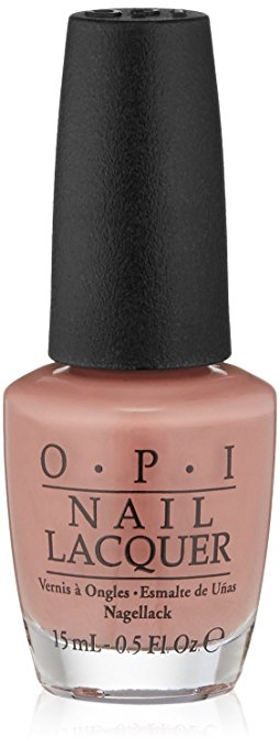 Every time I wear this shade, someone asks me about the color. It's so pretty and is a great everyday shade.  OPI Barefoot In Barcelona  is one of my all time favorites.