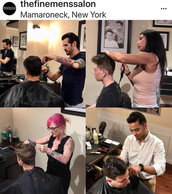 male hairdresser name