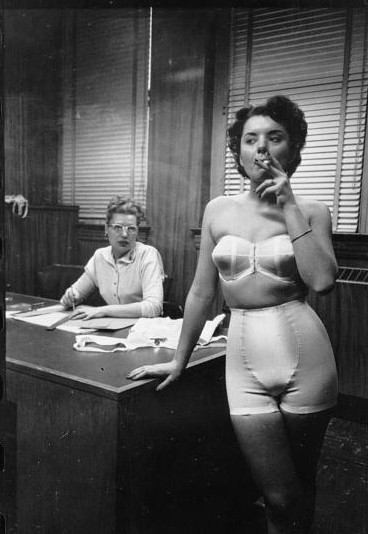 Lingerie Model 1949 / Library of Congress