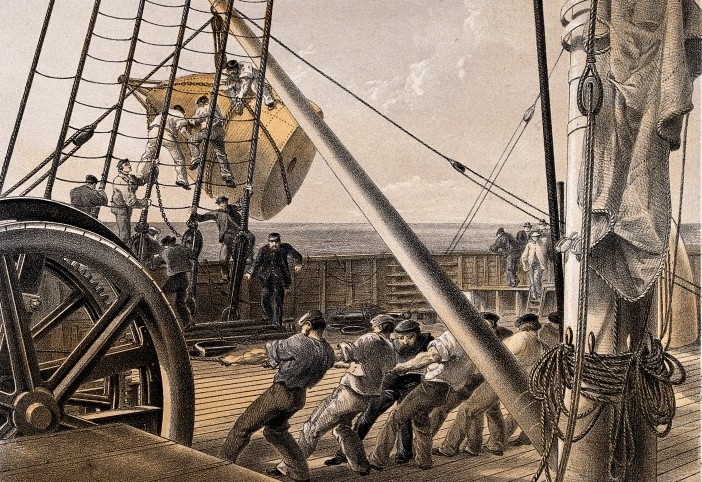 Ship-Building / Wellcome Images