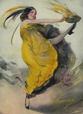 Dancer with Heels / Library of Congress