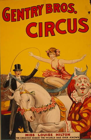 Gentry Bros. Circus / Library of Congress