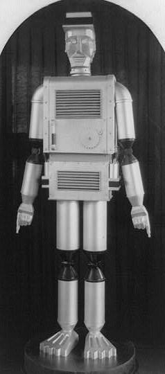 Robot Man / Library of Congress