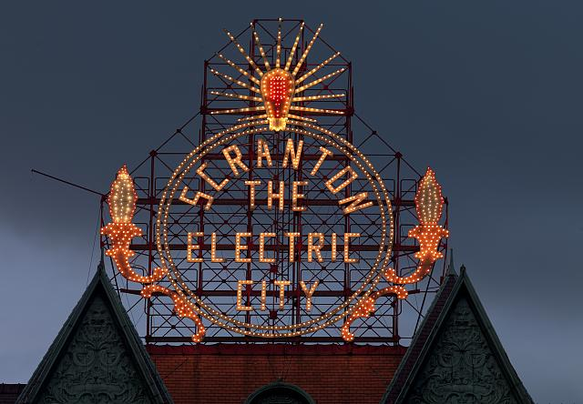 Electric City / Library of Congress