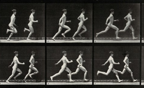 Teenagers Running / Wellcome Images