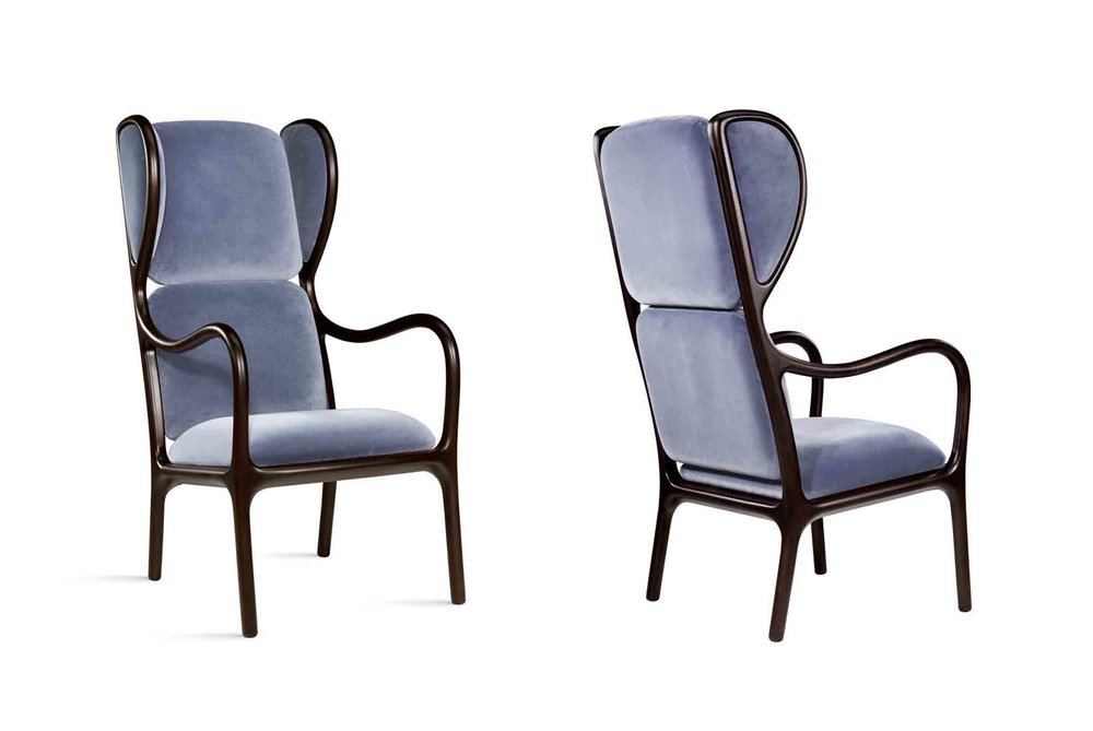 'Bergere 50' designed by Jaime Hayon for Ceccotti Collezioni