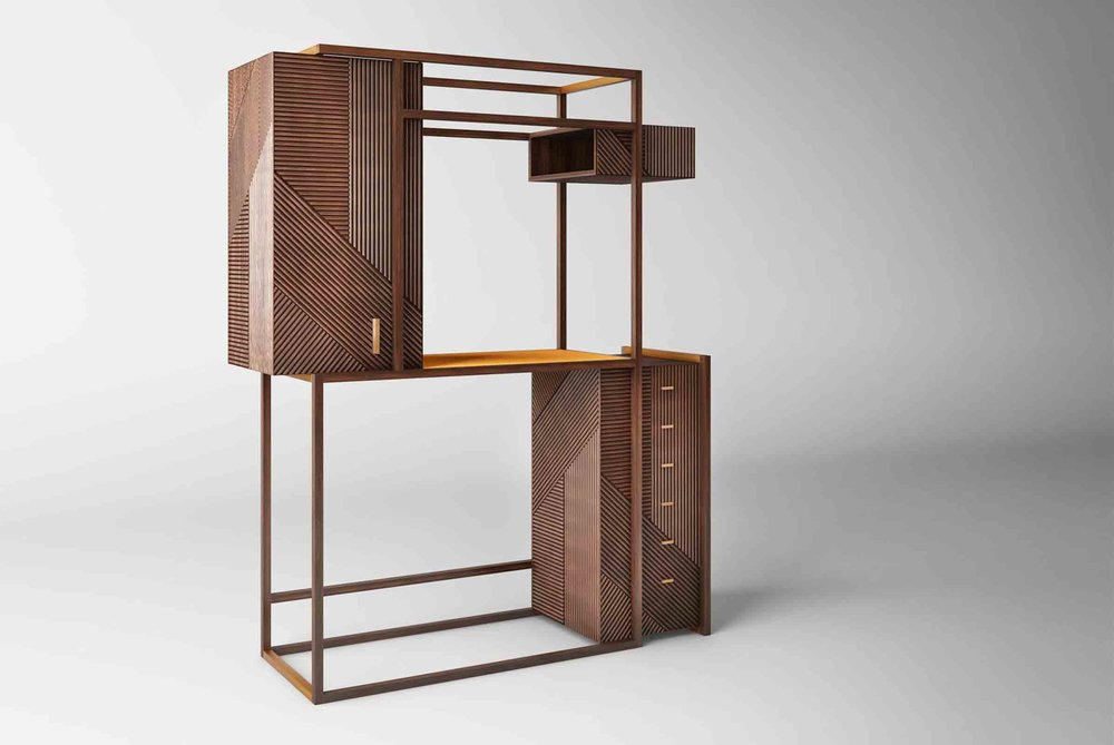 'Hampton' cabinet by Hangar Design Group
