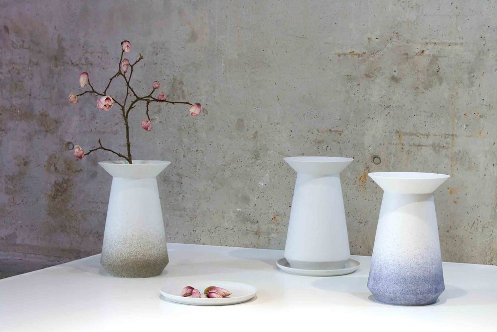 'Parasol' ceramics designed by Designstudio speziell for Pulpo