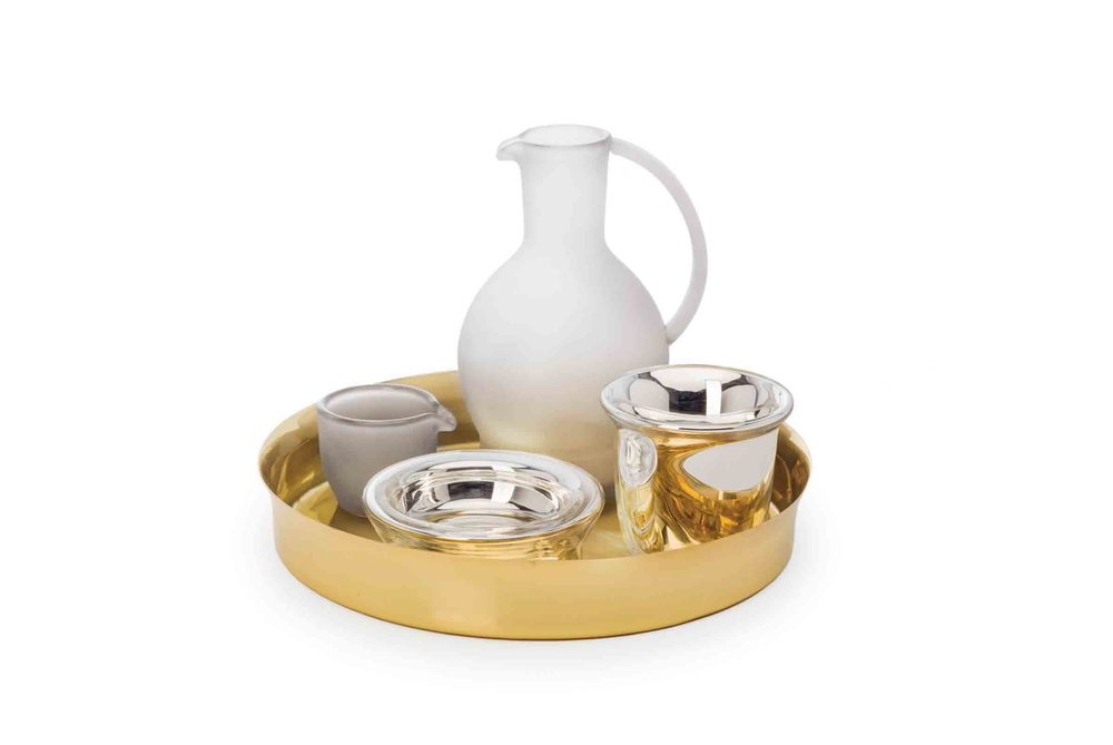 'Chado' teaset designed by Sebastian Herkner for Verreum